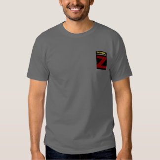 Color Zombie Tab and Patch T-shirt