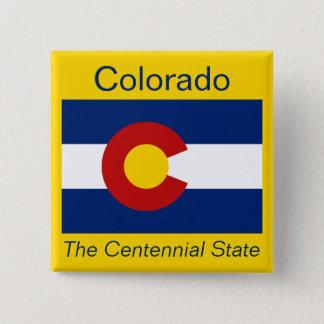 Coloradan Flag Button