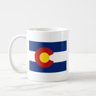 Coloradan Flag + Map Mug