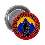 Colorado 14er Club 2 Inch Round Button