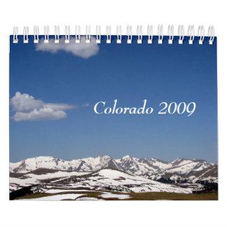 Colorado 2009 calendar