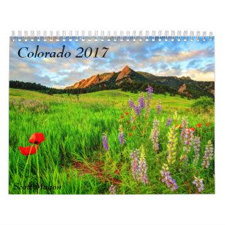 Colorado 2017 calendar