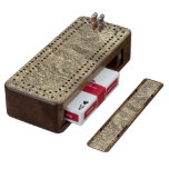 Colorado 2 walnut cribbage board