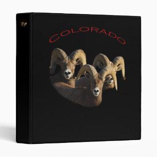 Colorado 3 Ring Binder