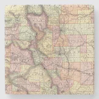Colorado 5 stone coaster