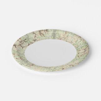 Colorado 6 paper plate