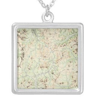 Colorado 6 silver plated necklace