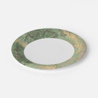 Colorado 7 paper plate