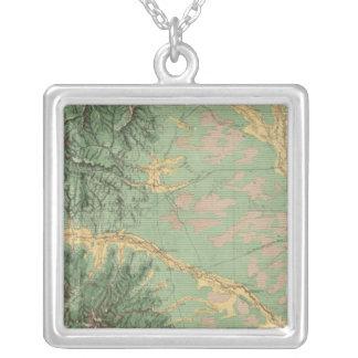 Colorado 7 silver plated necklace