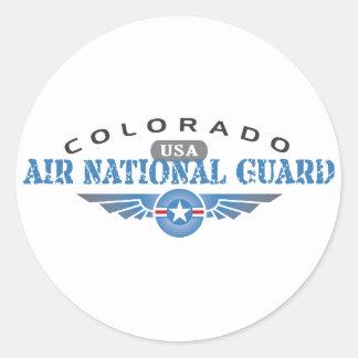 Colorado Air National Guard Classic Round Sticker