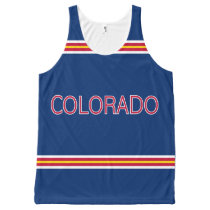 Colorado All-Over Printed Unisex Tank