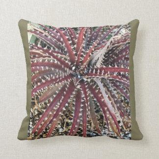 Colorado Aloe Vera Throw Pillow