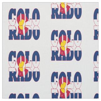 Colorado American state flag Fabric