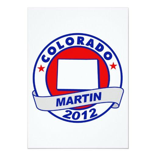 Colorado Andy Martin Invitación 12,7 X 17,8 Cm