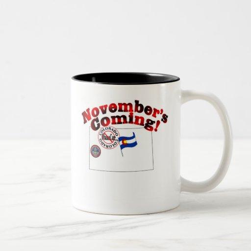 Colorado Anti ObamaCare – November's Coming! Mug