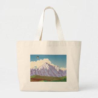 Colorado - arte del libro bolsas lienzo