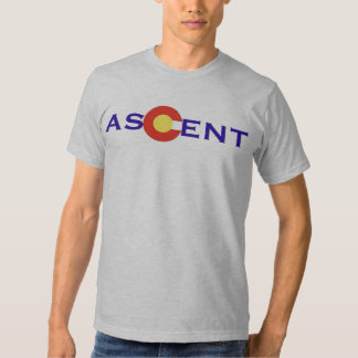 Colorado Ascent Logo (Grey) T Shirt