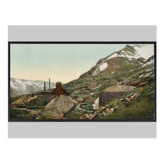 Colorado. Aspen silver mines classic Photochrom Postcard