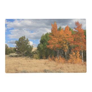 Colorado Autumn Placemat