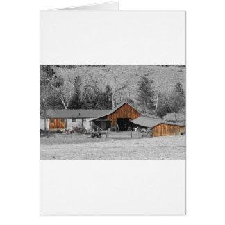Colorado Barn Boulder County Card