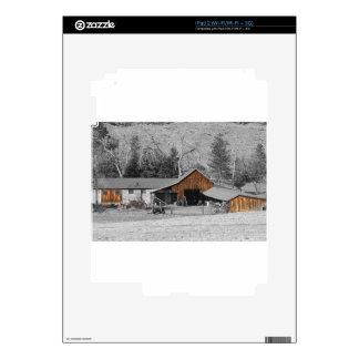 Colorado Barn Boulder County Skins For iPad 2