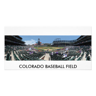 Colorado Baseball Field Card