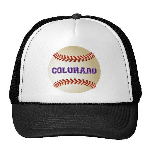 COLORADO BASEBALL TRUCKER HAT