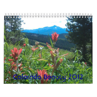 Colorado Beauty 2012 Calendar