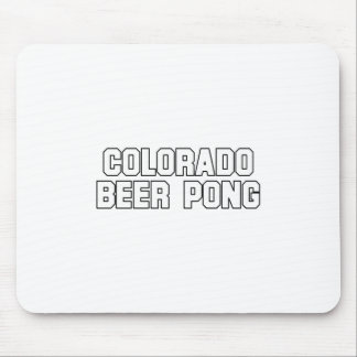 Colorado Beer Pong Mouse Pad