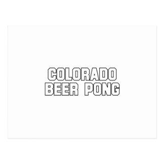 Colorado Beer Pong Postcards