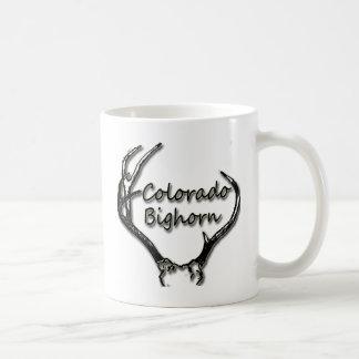 Colorado Big Horn Black & White Coffee Mug