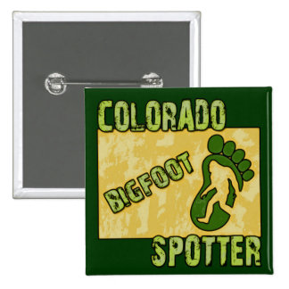 Colorado Bigfoot Spotter Pin