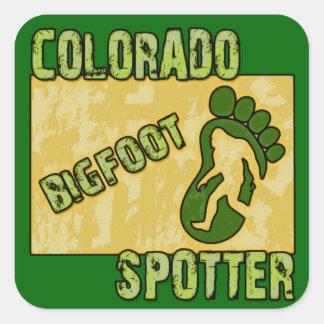 Colorado Bigfoot Spotter Stickers