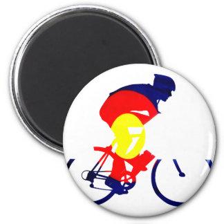 Colorado Biker 2 Inch Round Magnet