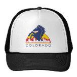 Colorado Blue Horse Hat