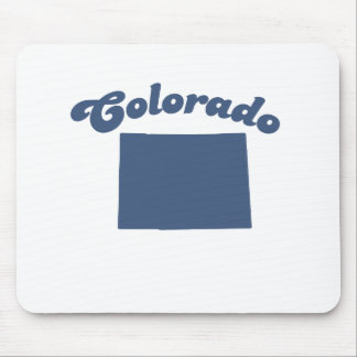 COLORADO Blue State Mouse Pads