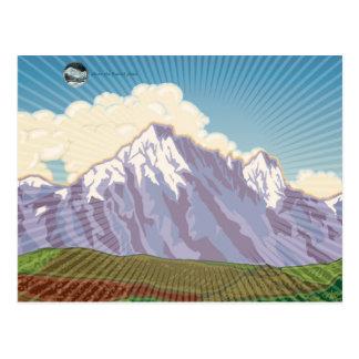 Colorado - book art postcards