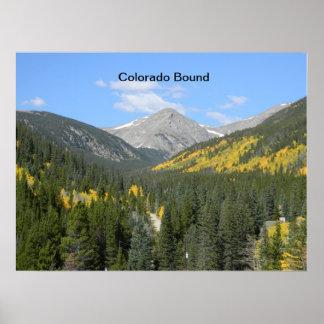 Colorado Bound Landscape Poster