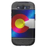 Colorado brushed metal flag samsung galaxy SIII case