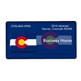 Colorado Business Label