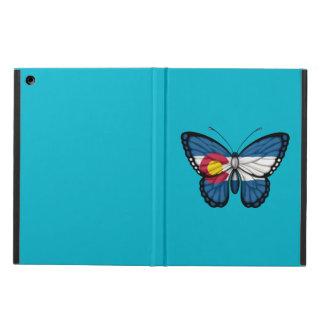 Colorado Butterfly Flag iPad Air Cover