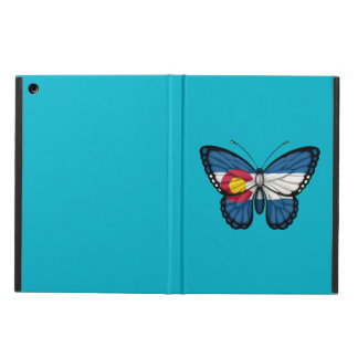 Colorado Butterfly Flag iPad Air Covers