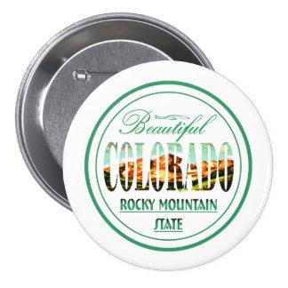 Colorado Pinback Buttons