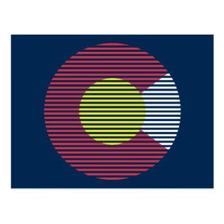Colorado c tarjeta postal