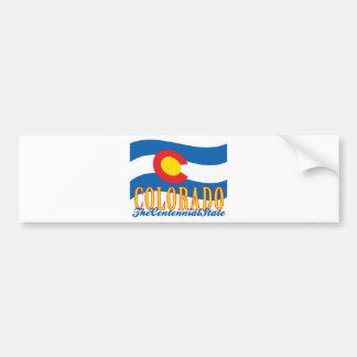 Colorado Pegatina De Parachoque