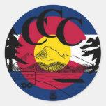Colorado Camping Crew Sticker