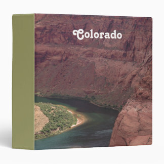 Colorado Canyon Vinyl Binder