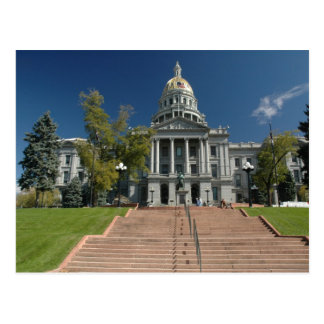 Colorado capital postcard