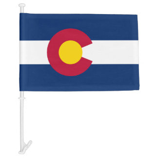 Colorado Car Flag