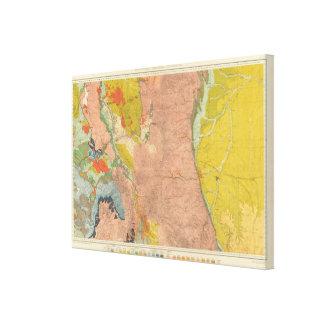 Colorado central septentrional 2 impresion de lienzo